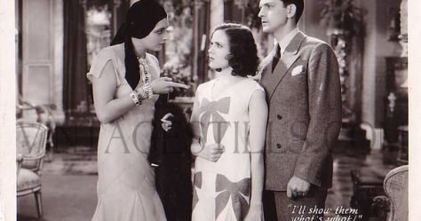 Kay Francis Mary Brian Fredric March The Marriage Playground 1929