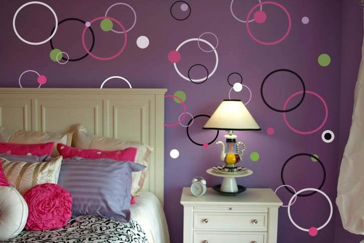 Pick out your own colors and spread out all over your room- you can make a simple accent wall, or... pinned with Pinvolve - pinvolve.co