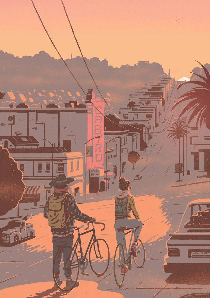 San Francisco poster for airbnb on Behance