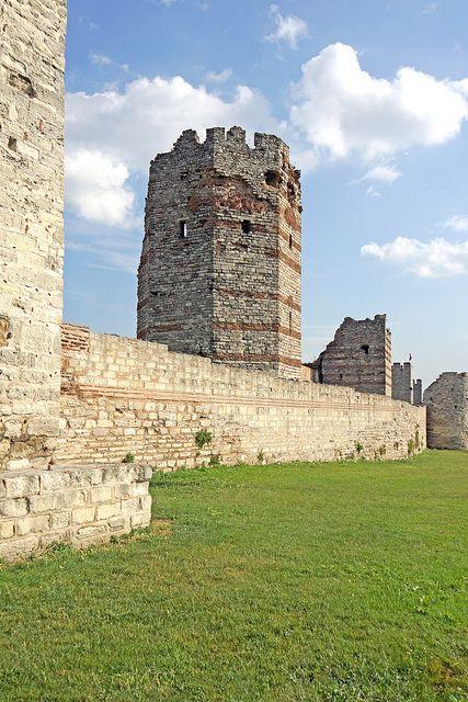 Old City Wall, Istanbul, Turkey