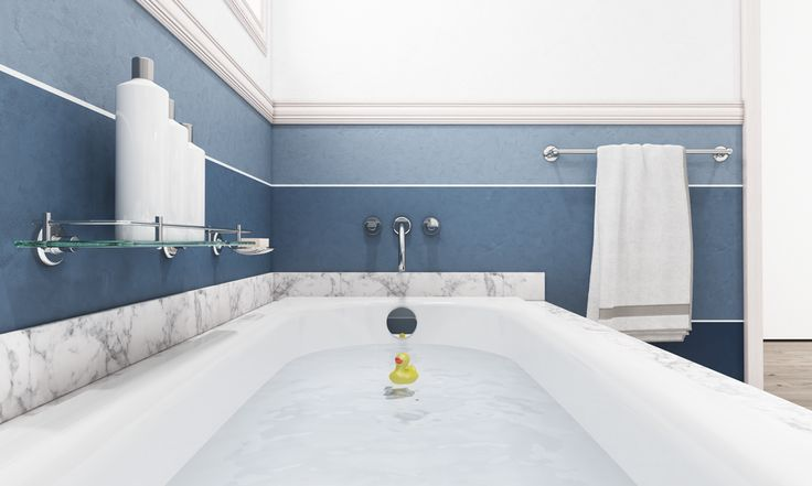 Hygiene is key in the family bathroom, so opt for Bette steel enamel baths made in Germany that are easy to clean thanks to the BETTEGlaze finish that is  extremely hygienic and bacteria are unable to adhere to the glass-like enamel surface.
