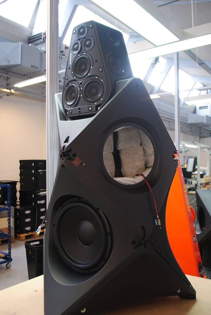 The sheer size of the BeoLab 90 by Bang & Olufsen is a joy to behold.