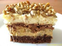 Zosia piecze - Ciasto słonecznikowe