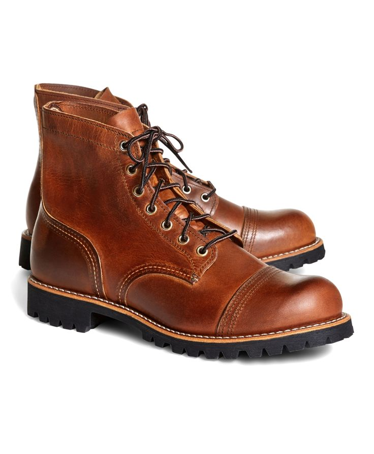Red Wing for Brooks Brothers 4556 Iron Ranger Boots - Brooks Brothers
