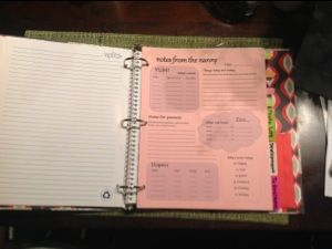 Nanny binder... i'm trying to make one of these and this is the perfect place to start!