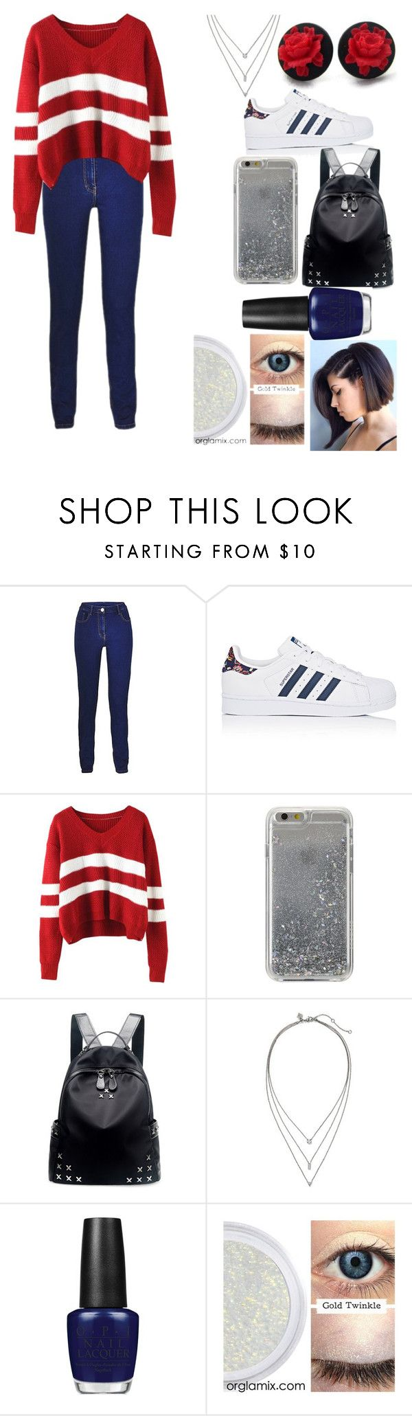 """but those who hope in the Lord will renew their strength. They will soar on wings like eagles...Isaiah 40:31"" by excellenta ❤ liked on Polyvore featuring adidas, Agent 18, Chicnova Fashion, Banana Republic and OPI"