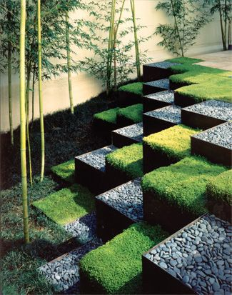 Ron Herman, Ellison Residence. San Francisco, USA, 1997.  Land Art.