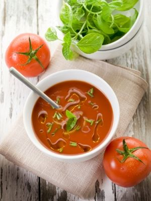 deVegetariër.nl - Vegetarisch recept - Tomatensoep