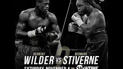 Deontay Wilder vs Bermane Stiverne - Boxing PBC Nov 4, 2017 Live Match : http://po.st/SV3gQ5 Match : Deontay Wilder vs Bermane Stiverne Sport : Boxing PBC  Date : Nov 4, 2017  Watch Deontay Wilder vs Bermane Stiverne Live Deontay Wilder vs Bermane Stiverne Live Stream