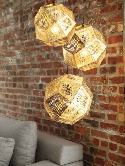 Tom Dixon etch pendants