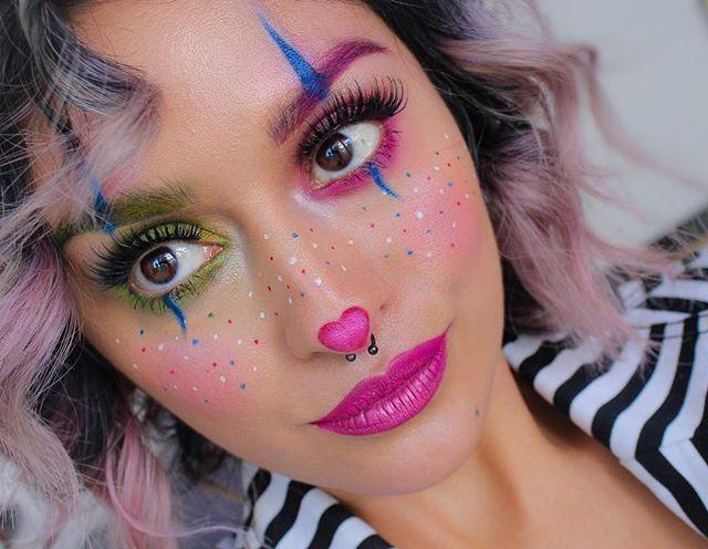 Clown Makeup Kids Kosmetik zum Schmelzen bringen #clownmakeup #childrenclown – Clown Schminke Kinder