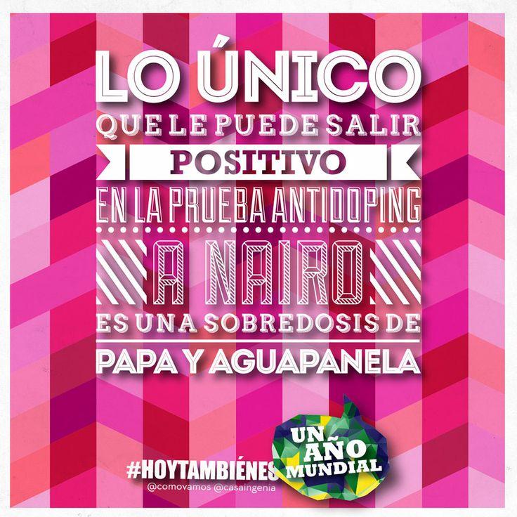 El color rosado está de moda! #HoyTambienEsViernes #ForzaNairo #Unañomundial