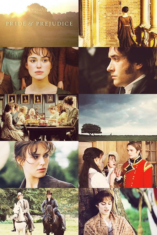 Pride and Prejudice.- Just watched this again today. My favorite Pride and Prejudice movie. He's the only Mr. Darcy!