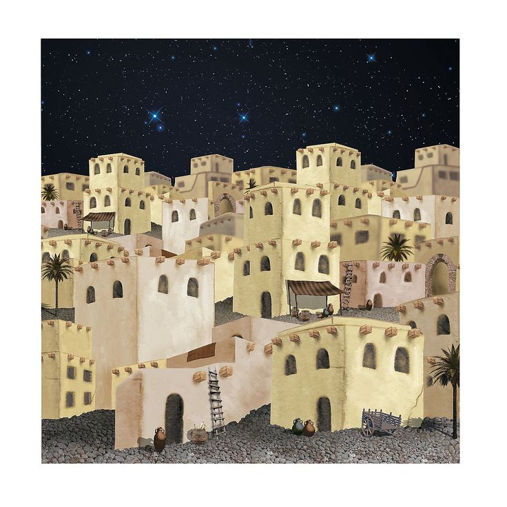 Nativity Pageant Backdrop Banner - OrientalTrading.com $10 ...