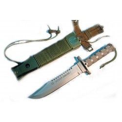 Cuchillo Aitor Jungle king I Hoja Acero