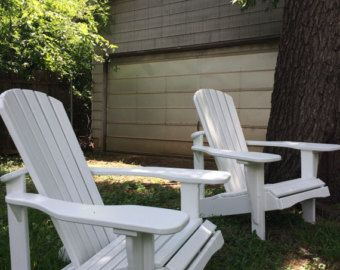 Great Outdoor Chairs Set Of 4 Comfy By Laughingcreekprod On Etsy