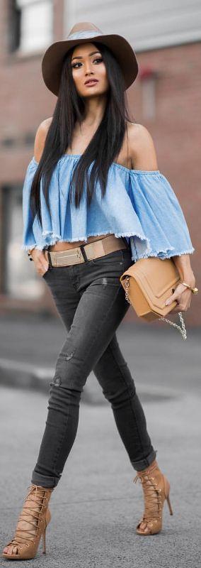 La blusa me encanta. Sólo un poquitín más larga