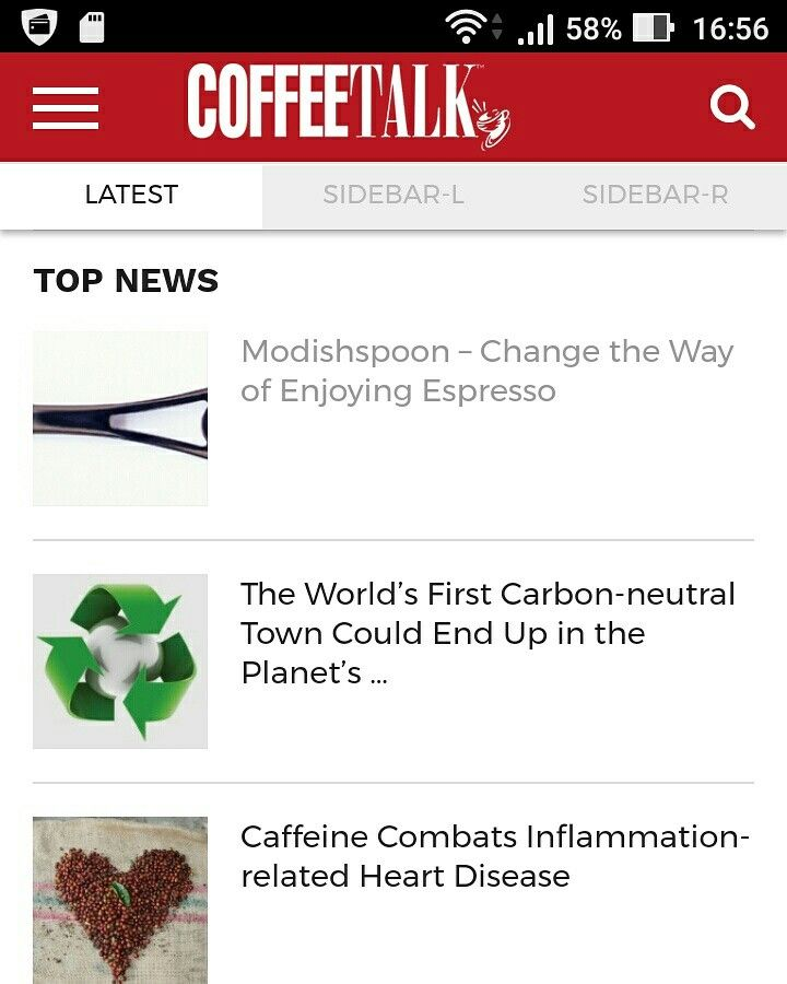 Thanks to Coffee Talk for inserting Modishspoon in the Top News!  #Midishspoon #design #coffee #espresso #madeinitaly #crowdfunding #kickstarter #spoon #italianstyle #lifestyle