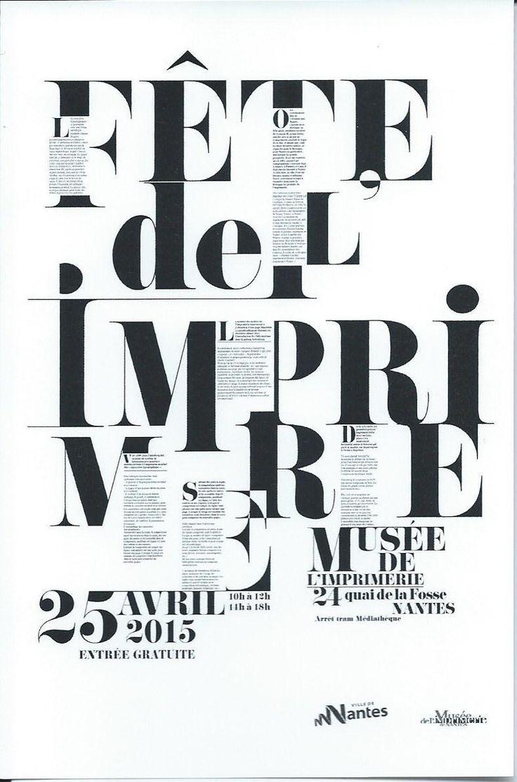 Fête de l'imprimerie Nantes 2015