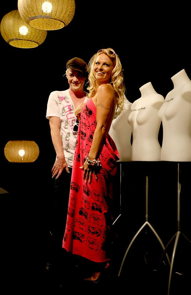 Pamela Anderson Richie Rich Photos: ANZFW 2009 - Pamela Anderson A Muse Photo Call