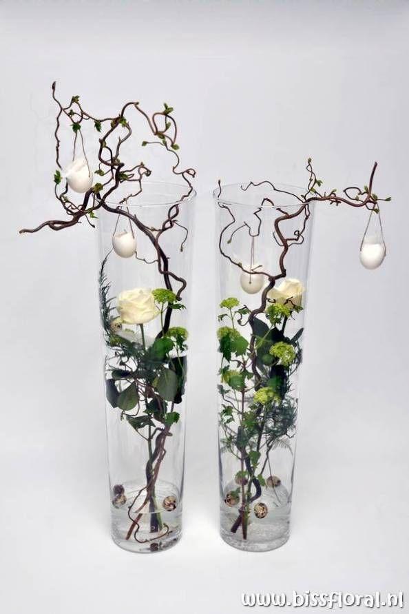 Leuke vazen met Pasen…   Floral Blog   Bloemen, Workshops en Arrangementen   www.bissfloral.nl