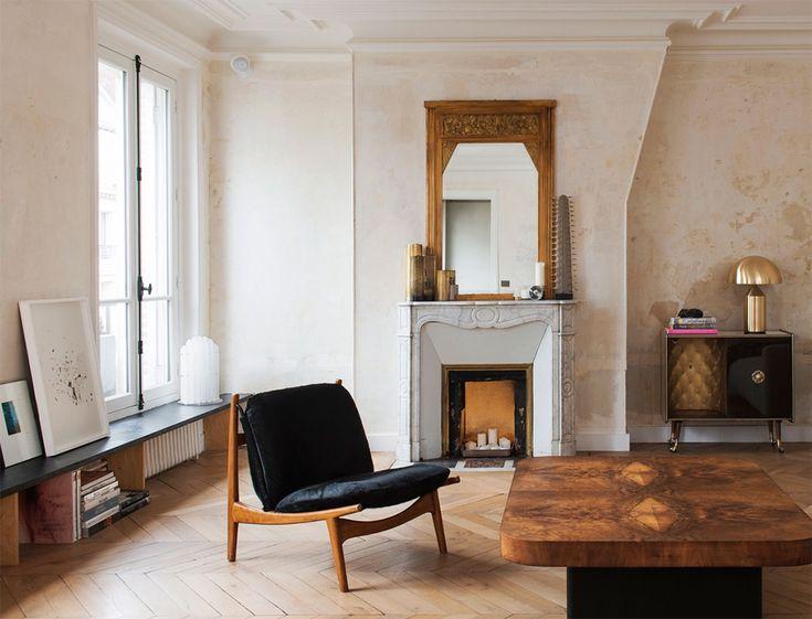 A Renovated Parisian Apartment — MODEDAMOUR