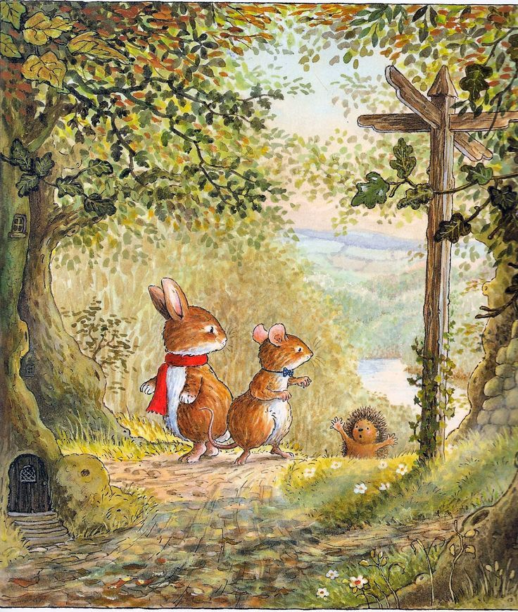 :: Sweet Illustrated Storytime :: Illustration from Foxwood Tales by Cynthia and Brian Patterson