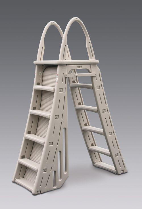 Roll Guard A-Frame Safety Ladder