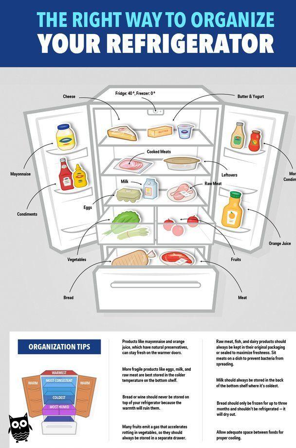 Pin On Refrigerator Organization