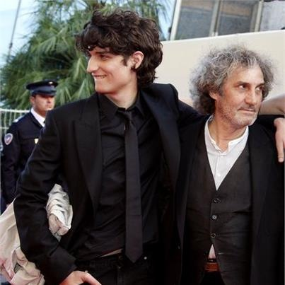 Louis Garrel and his father, Philippe Garrell