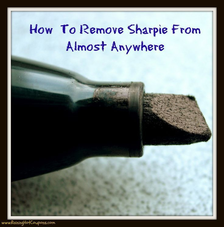 How To Remove Sharpie From Almost Anywhere Click here --> http://www.raininghotcoupons.com/how-to-remove-sharpie/