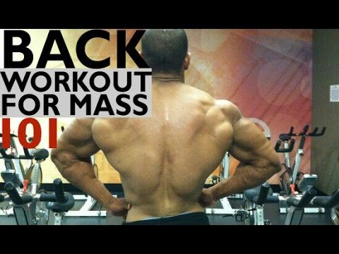 BACK WORKOUT FOR MASS: BACK 101 - YouTube
