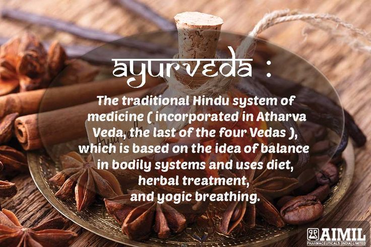 #Ayurveda : The Traditional System Of #Medicine .
