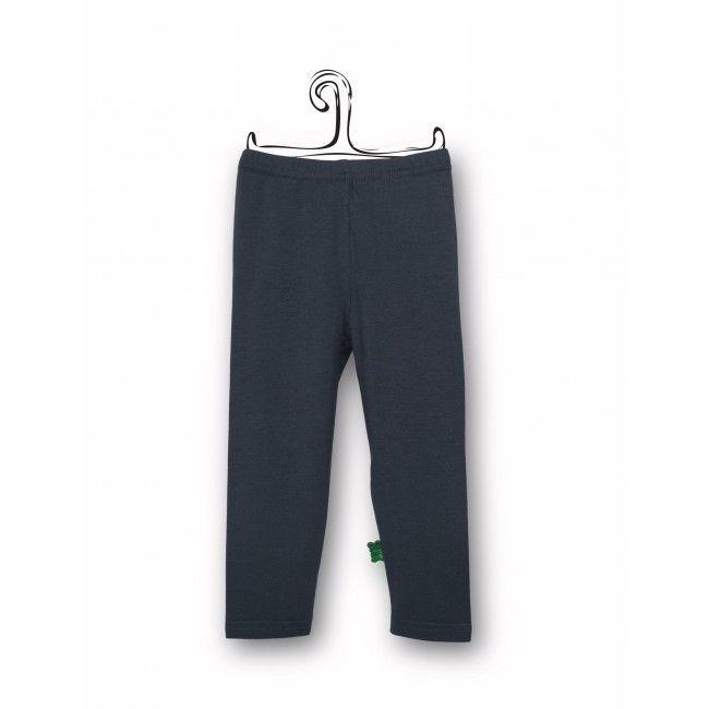 Leggings inchiostro, capo d'abbigliamento economico e pratico per bambini in cotone biologico certificato GOTS.