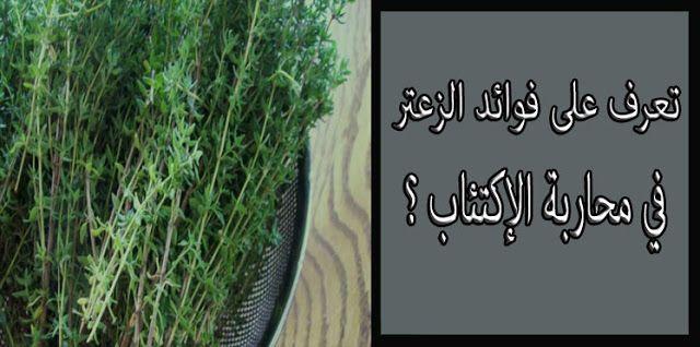 تعرف على فوائد الزعتر و محاربته الإكتئاب Herbs Thyme Benefit