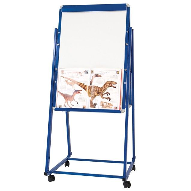 mobile magnetic display easel a mobile magnetic height adjustable display easel - Display Easel