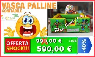 Vasca gonfiabile con 1000 palline colorate http://playhousegonfiabili.it/offerte-shock-giochi-bambini/offerte-giochi-gonfiabili-vasca-cartoon-circus-detail.html