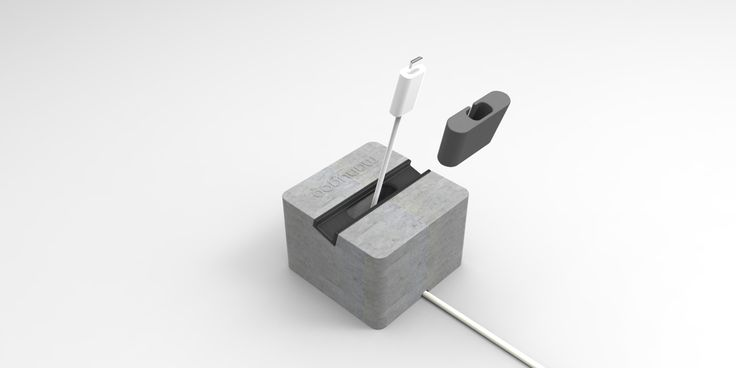 Beton Handyständer (Produkt in Entwicklung) - manugoo