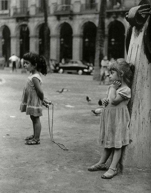 Joan Colom. La calle, Barcelona, 1958