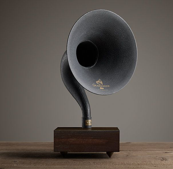 Restoration Hardware Gramophone: GORGEOUS- I Desperately Need This In My Life! Gramophone