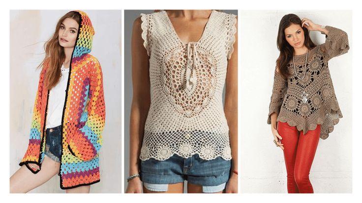 Gosta da moda crochê? Então confira mais de 100 inspirações de blusas de crochê para você se inspirar. Tem looks, receitas, vídeos com passo a passo.