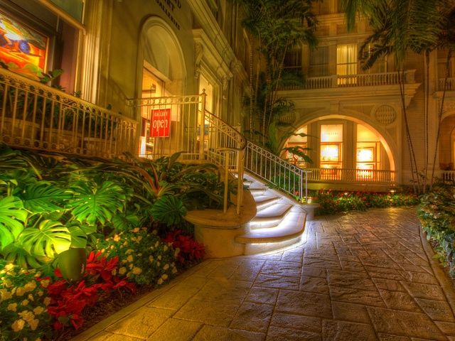 Spend the night at the Moana Surfrider, the oldest hotel in Waikiki, well known for gracious accomodations.
