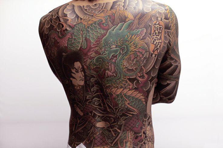 yakuza tattoo design gallery - photo #16