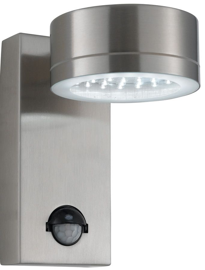 External Wall Lights Pir : Modern Wall Lights Modern LED Stainless Steel Outdoor PIR Wall Light: SL-9550SS lighting ...