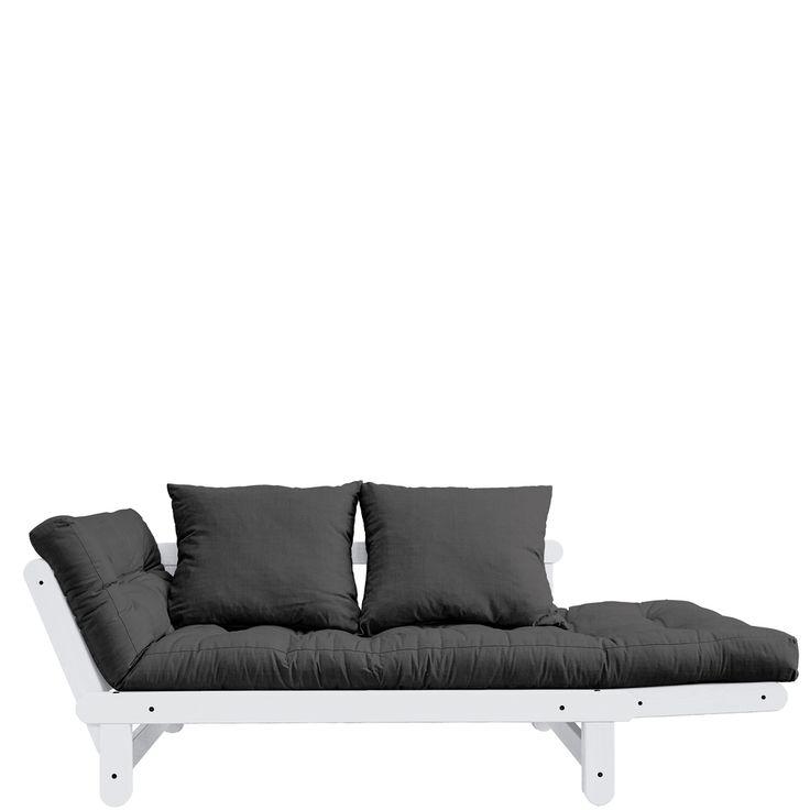 Die besten 25+ Schlafsofa Ideen auf Pinterest Ikea schlafsofa - wohnzimmer komplett weis