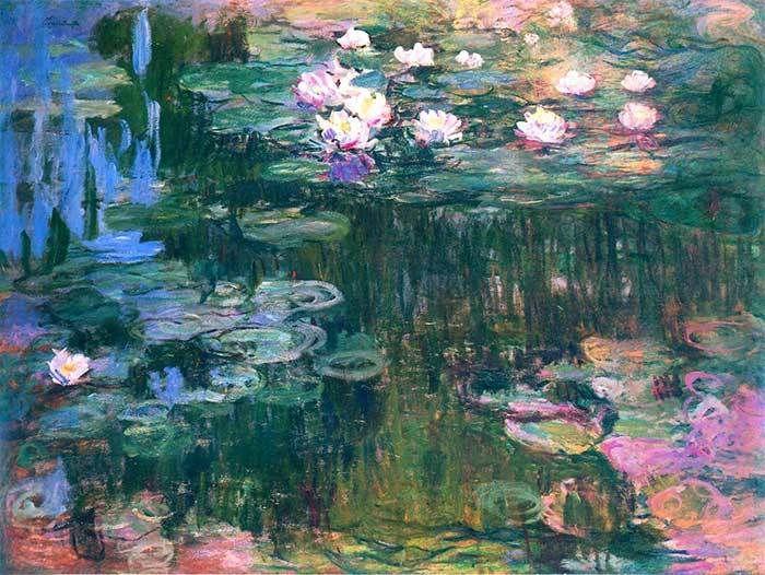 36. Claude Monet, Water Lilies (2), 1914-1917