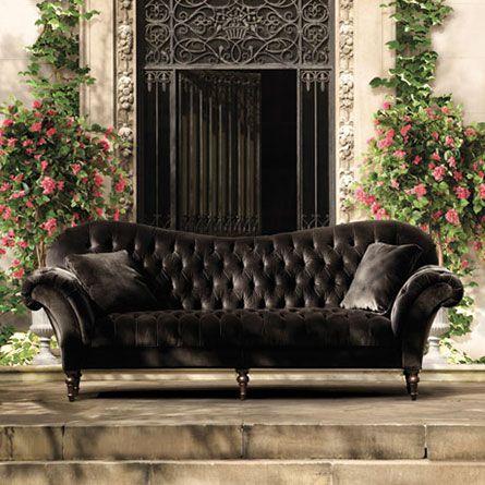 Best 25 Velvet Tufted Sofa Ideas On Pinterest