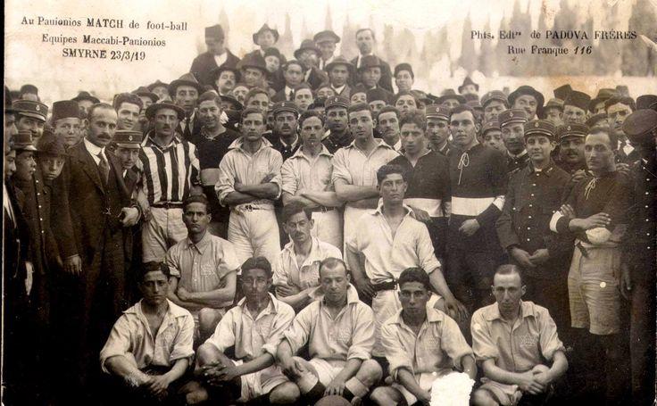 Ομάδα Πανιωνίου 1919 στη Σμύρνη