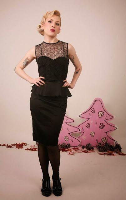 Lady Cacahuete dress
