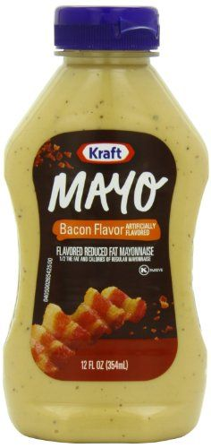 1/2 the fat and calories of regular mayonnaise.